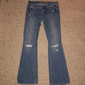 Victorias Secret Pink Jeans Denim Flare size 2 S